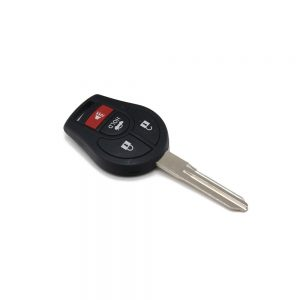 SKU 5723 Nissan 4 but remote key shell