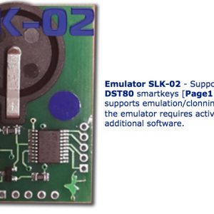 SLK-02 – Emulator DST 80 Bits , Page 1,98 (requires activation SLK-02 maker)
