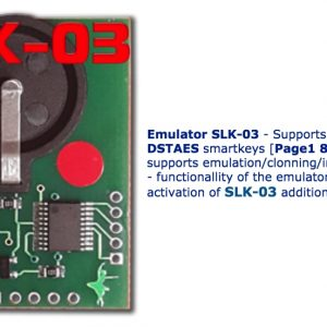 SLK-03 – Emulator DST AES, Page 1,88,A8 (requires activation SLK-03 maker)