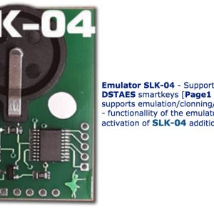 SLK-04 – Emulator DST AES, Page 1,A9 (requires activation SLK-04 maker)