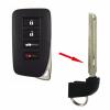 Lexus GS350 emergency key 2013-2016 - Imagen 1