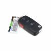 VW Remote flip key fob DC 2002-2005 - Imagen 1