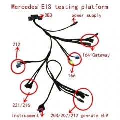 SKU 1932 5 IN 1 EIS ESL DASHBOARD TEST CABLE FOR MERCEDES BENZ