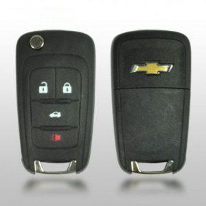 STRATTEC 5912543 Chevy 2010+ 4-Btn Flip Remote
