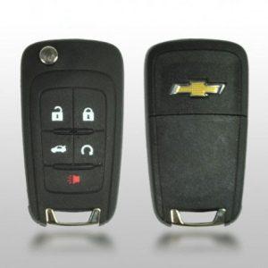 STRATTEC 5912545 Chevy 2010+ 5-Btn Flip Remote